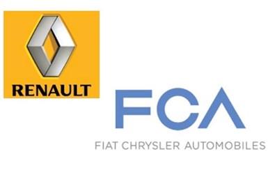 Key Meetings May Revive Renault, FCA Merger Talks