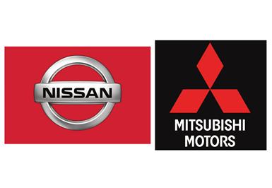 Nissan. Mitsubishi.