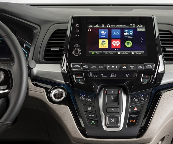 There is a Honda-developed, Android-based operating system on that 8-inch touchscreen in the center of the instrument panel. This system can be updated  over-the-air or via USB. It is the first use of the system.