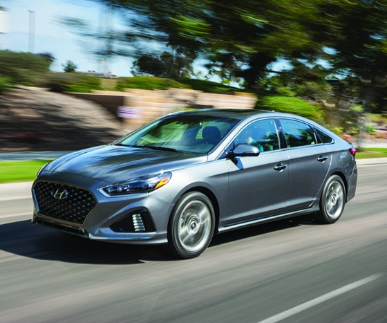 For the 2018 Sonata, significant changes were made to the exterior of the vehicle to make it more head-turning, to capture something of the attention garnered when the model year 2011 Sonata appeared.
