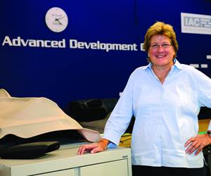 """IAC's Dr. Rose Ann Ryntz, vice president, Advanced Development and Material Engineering, thinks that there will be a """"revolution"""" in the auto industry—at both the OEM and supplier level—that will """"drive the companies as we know them today to become more agile, smaller and to learn to work with competencies that will make them more efficient."""""""