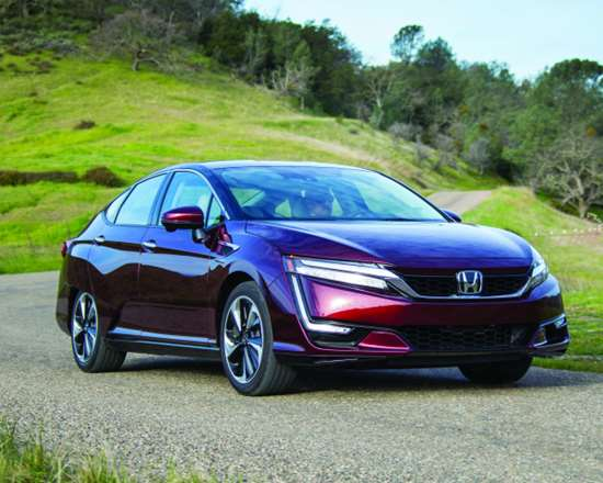 The Honda Clarity uses a number of aluminum parts, from closure panels to a hollow die-cast front subframe.