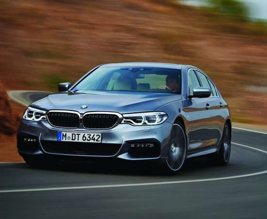 The BMW EfficientLightweight approach—largely predicated on mixed materials—reduces the weight of the new 5 Series by as much as 137 pounds compared to the previous gen vehicle.