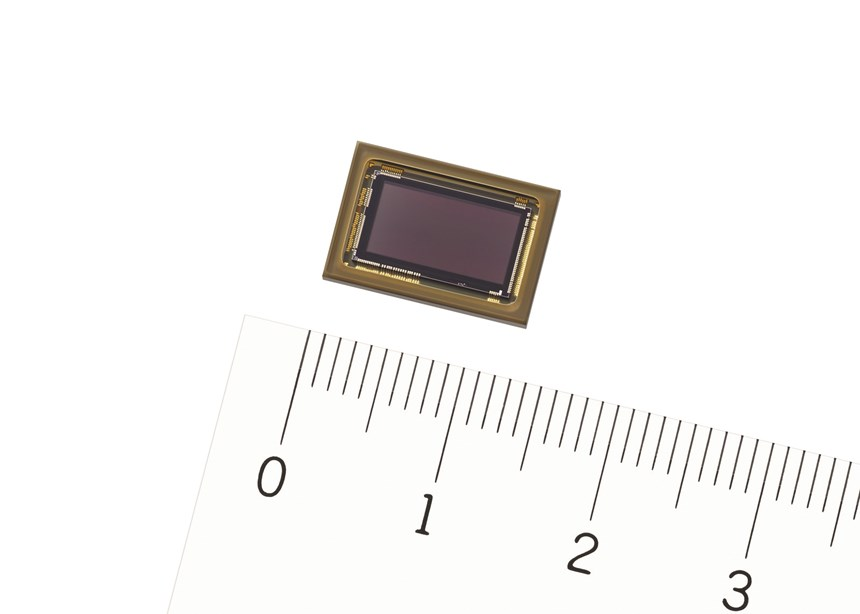 Sony's new image sensor, known as IMX324, can snag high-definition images of road signs as far as 160 meters (525 feet) away.