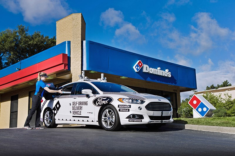 Domino's delivers—without a driver