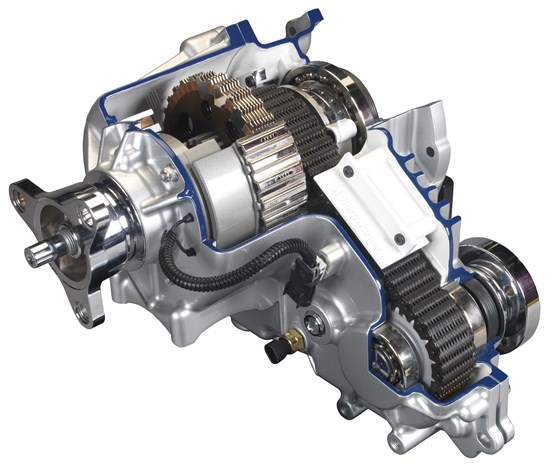 The BorgWarner Torque-On-Demand transfer case is used in the Dodge Challenger GT to provide AWD capability when needed.