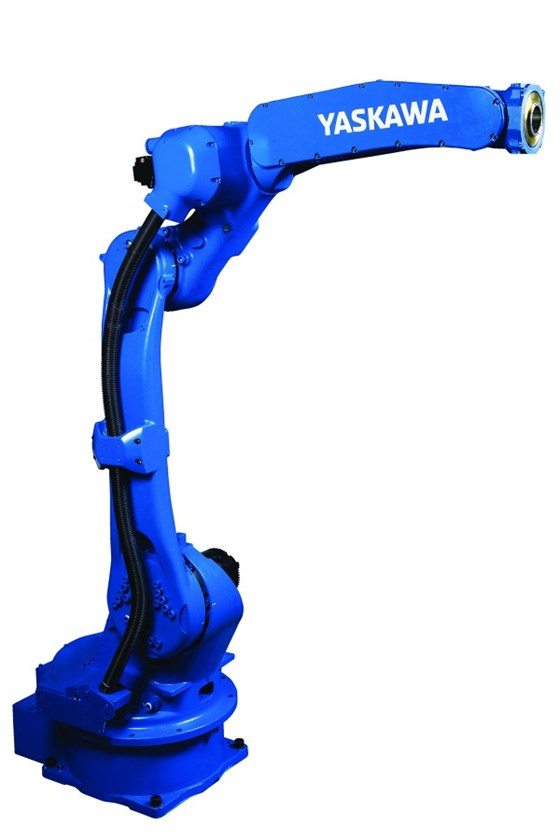 The Motoman GP25 is engineered for assembly, dispensing, material handling and other applications.