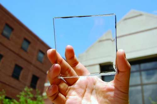 The clear conductor material is still in its early stages and is only able to produce a solar conversion efficiency of about 1 percent. Researchers are aiming to reach 5 percent, however the best colored LSC has an efficiency of around 7 percent, scientists note.