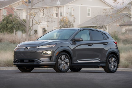 The Kona Electric: the EV version of the B-segment crossover.
