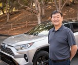 Chief engineer Yoshikazu Saeki and the fifth-generation RAV4. The RAV4 created the compact SUV segment in the U.S. back in 1996 (it was launched in Japan in 1994), a segment that has nothing but grow. In 2017 the RAV4 had more sales than any vehicle in the U.S. that wasn't a pickup truck. Consequently, this vehicle is arguably more important to Toyota than even the Camry
