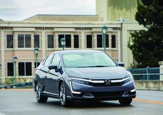 The 2018 Honda Clarity Plug-In offers seating for five (it has 101.5-ft3 of passenger volume, so it really is roomy), 15.5-ft3 of cargo capacity (the lithium-ion battery pack is located beneath the passenger compartment, not in the trunk) and can go 47 miles on electricity alone.