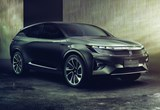 """The Byton crossover. While having a stylish exterior design, the company describes it as a """"smart device."""" Which sort of undercuts the execution of the vehicle."""