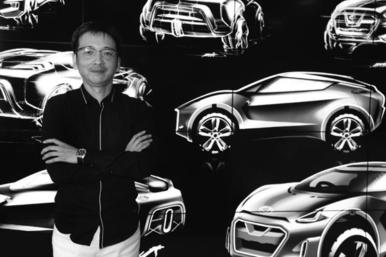 "Taro Ueda, vice president of Nissan Design America and general manager of the Nissan Strategic Design Department: ""For me, what is most interesting is that a car is moving—even if you're not driving it."""