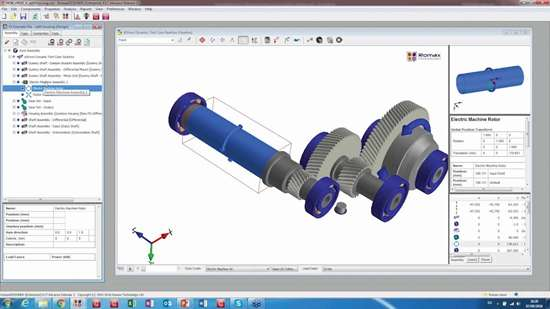 Advanced finite element gear root stress analysis in RomaxDesigner R17 accounts for gear rim distortion, specifically for modern, lightweight, and flexible gear designs gears and highly loaded gears. Add to this new FVA345 gear efficiency calculations that account for lubricant additives and modifiers.