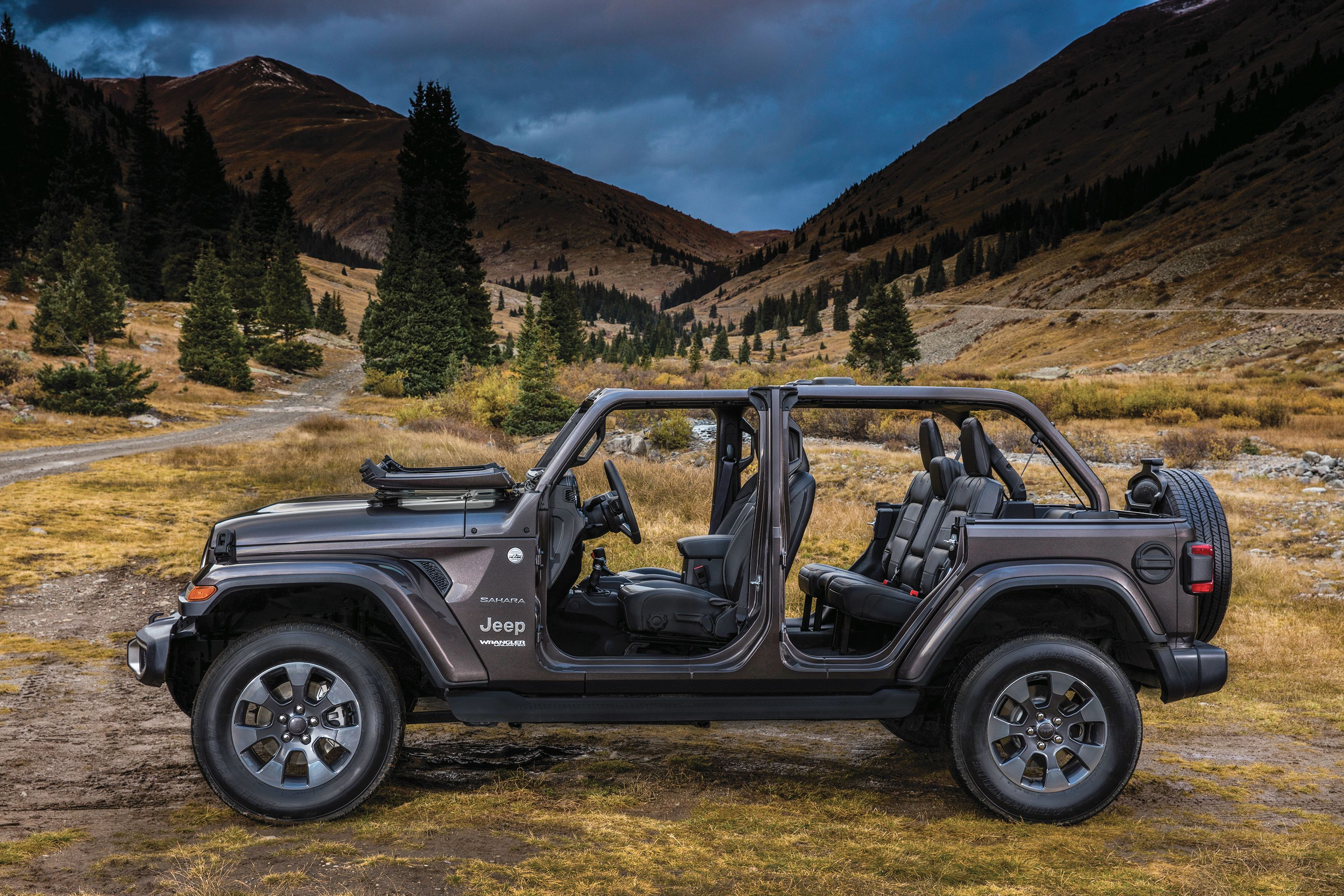 The doors are aluminum so they are easier to heft. And speaking of aluminum & 2018 Jeep Wrangler: Some Things to Know : Automotive Design \u0026 Production