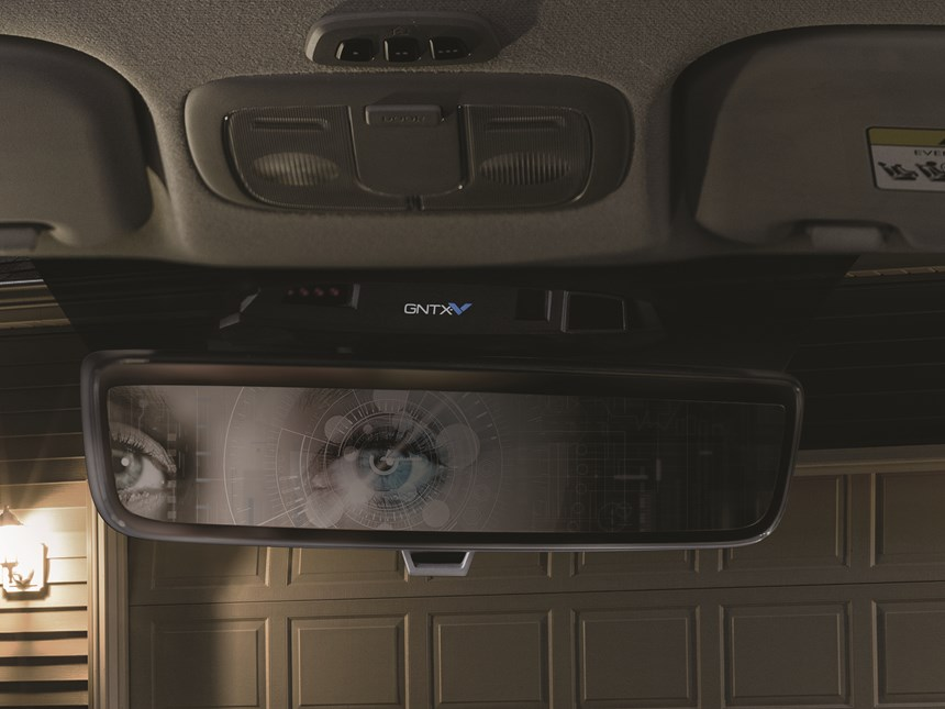 Biometrics firm Fingerprint and Gentex, which makes automatic dimming rearview mirrors and other hardware for the automotive and aviation industries, have teamed up to give mirrors the intelligence to scan irises.
