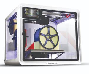 """If the power goes out, Airwolf 3D's new EVO desktop printer is designed to resume printing in """"Zombie Mode"""" as soon as electricity is restored. (Their term, not ours.)"""