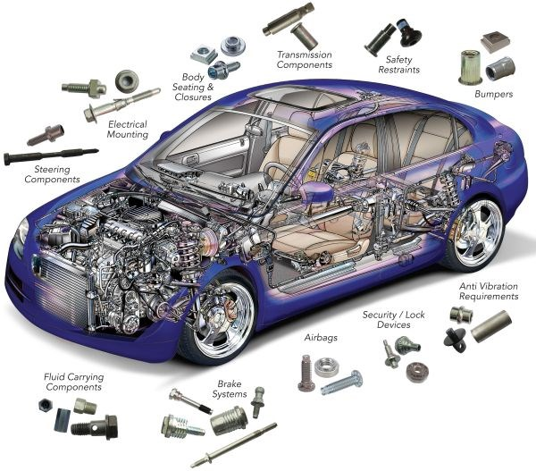 PennEngineering fasteners for auto industry