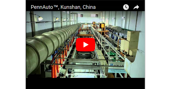 PennAuto Kunshan China factory video