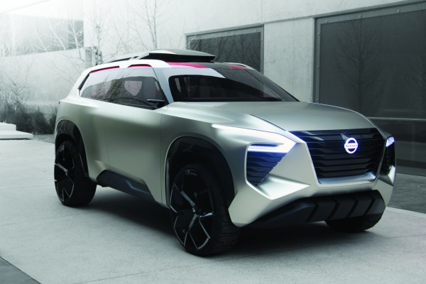 The Nissan Xmotion Concept. A design objective was to combine what has historically been an American-type vehicle—the SUV—with a Japanese aesthetic.