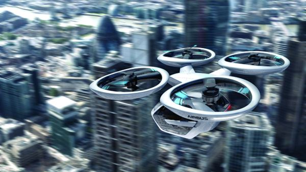 Autonomous Driving—and Flying image