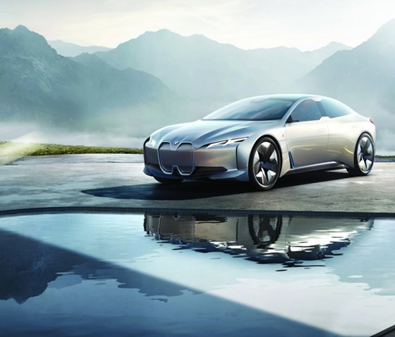 The i Vision Dynamics. This car, taken in the context of the i3 and  the i8, shows the breadth of the offerings that will come from BMW i.