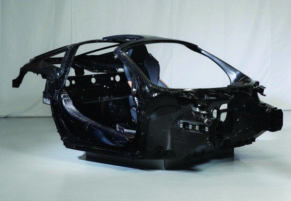 This is the sort of structure that is under the skin of every McLaren produced.