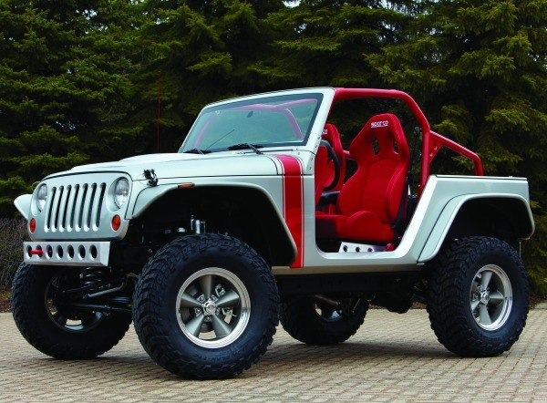 The 2011 Jeep Pork Chop: more than 850 pounds saved.