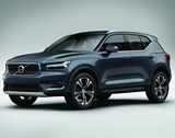 The all-new Volvo XC40. This really is all-new because it is the first of its type. According to Anders Gunnarson, one of the objectives was to design a compact SUV to join the larger family members, the XC60 and the XC90, yet to give it its own identity.