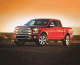 """The 2015 F-150: """"High-strength, military-grade, aluminum alloys —already used in aerospace—are used throughout the F-150 body for the first time, improving dent and ding resistance and saving weight."""" Those alloys also got the steel industry to be exceedingly concerned, given the massive popularity of the F-Series."""