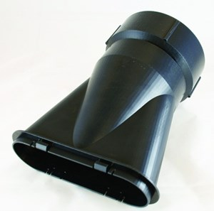 Stratasys F370 is designed to use thermoplastics that, in its raw form, closely resemble injection-molding plastics.