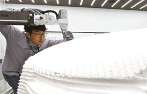 Hyundai Mobis's new 3D-printing design lab.