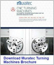 Muratec Turning Machines brochure
