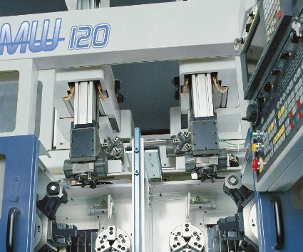 Muratec MW 120 twin spindle turning cell