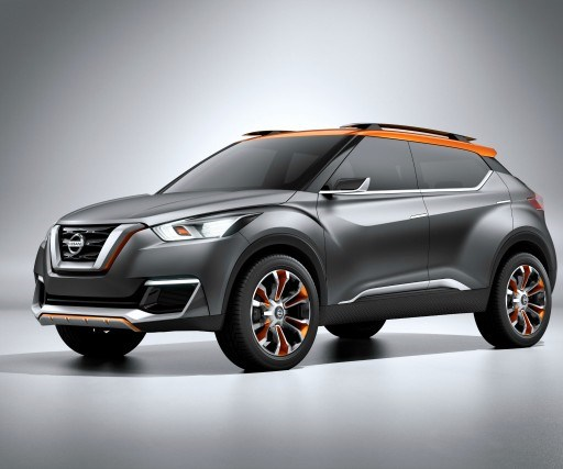 "This isn't the production Kicks but the Kicks Concept, that was unveiled at the São Paulo International Motor Show in October 2014. The vehicle design included participation of Nissan Design America in both San Diego and Rio, as well as the Nissan Global Design Center in Japan. When the Kicks Concept was first shown, Taro Ueda, vice president, Nissan Design America, said, ""It's not only just for the Brazilian market, but we capture the idea of Brazil and then we apply it to our global design improvement. Making a stronger design lineup for future Nissan designs."""