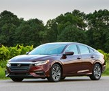 The third-generation, 2019 Honda Insight. It was designed to be a stylish compact sedan. It was engineered to be a highly efficient hybrid.