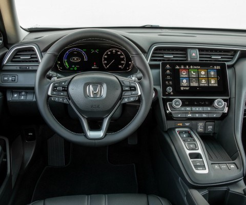 The Insight comes in three trim levels, LX, EX and Touring. Across the board Honda Sensing—a safety and assistance suite that combines collision mitigating braking, adaptive cruise control with low-speed follow-lane-keeping assist, and road-departure mitigation—is standard.