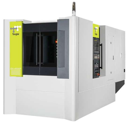 The Tongtai SH-4000P horizontal machining center.