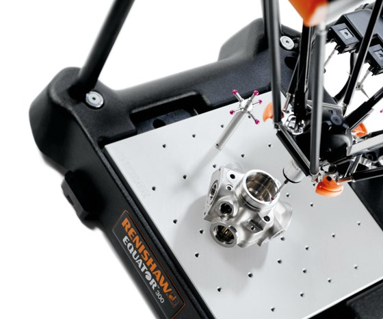 The Equator gage provides direct feedback to the cutting machine to automatically update tool and work offsets.