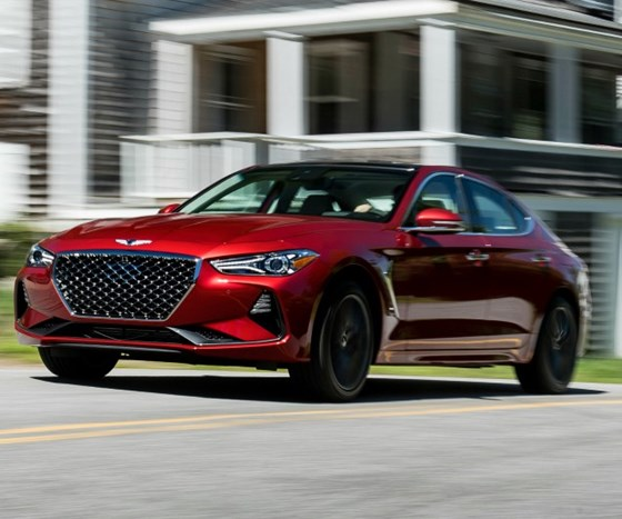 """Luc Donckerwolke, Genesis executive vice president and Global Head of Design, says the """"Golden Rule"""" for Genesis design is: """"It must sit well on its rear wheels."""""""