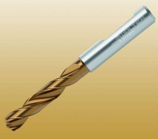 Walter's DC160 Advance solid carbide drill.