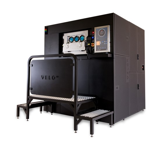 The Sapphire metal 3D printing system.