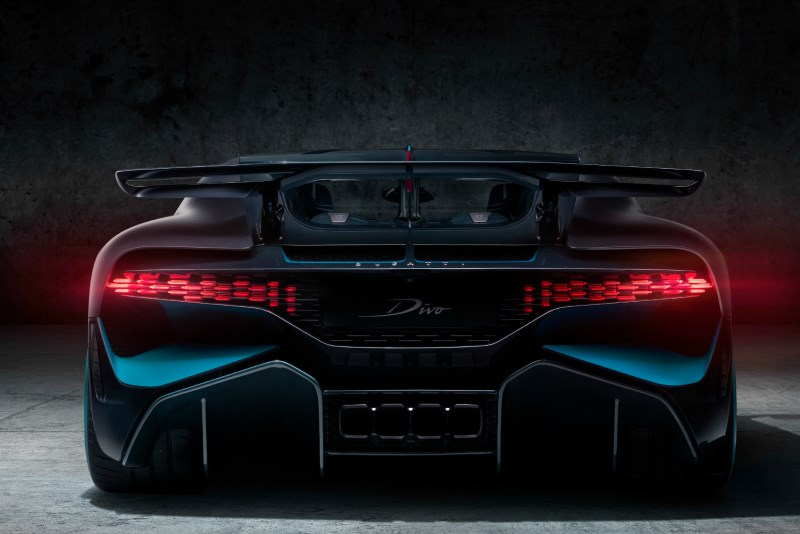 The rear grille of the Bugatti Divo, which was produced partly thanks to 3D printing tech. The industry could grow to an $8-billion business by 2024.