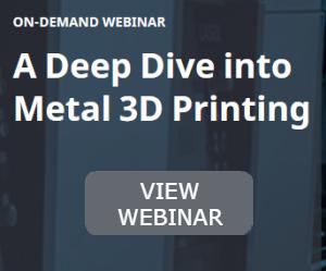 Metal 3D printing webinar