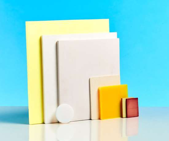 Aerogels come in multiple formulations, from 98 percent air by volume to just 3 percent. Doubling density quadruples strength but can compromise other properties. Yellow polyimide is a high-temperature, high-strength, non-flammable polymer similar to Kapton, while polyamide