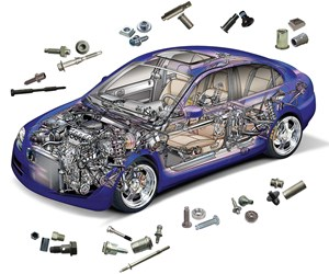 According to Toyota, there are roughly 30,000 parts in a car. What holds them together are the hundreds of fastener types that come from suppliers all over the world.