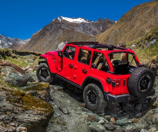 Jeep Wrangler: It climbs mountains and the sales charts with equal aplomb.