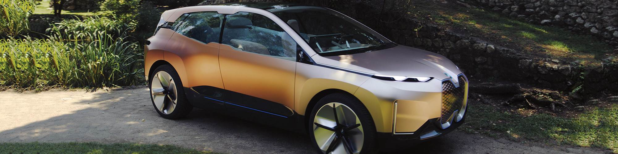 The BMW Vision iNEXT Concept. The real-thing—a Level 3-capable electric vehicle—is coming in 2021.