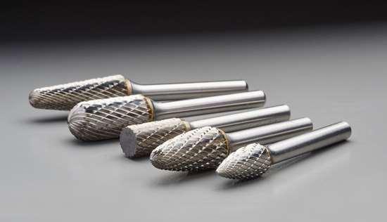Double-cut Carbide Burrs