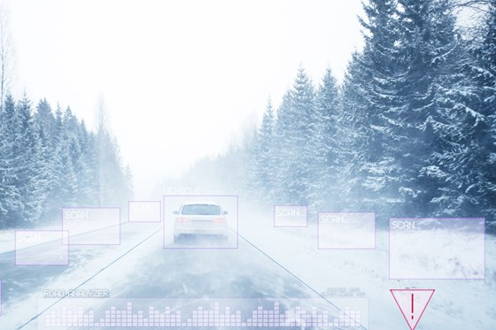 Denso is licensing technology from Finnish company Canatu, which makes heat conducting thin films - to could keep sensors warm even in bitter cold.